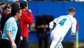 Sergio Ramos không bị phạt khi trở lại sân.