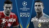 Real Madrid đụng độ Bayern ở bán kết.