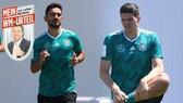 Gundogan (trái) và Gomez (phải) sẽ giúp cho Đức thắng Thụy Điển?