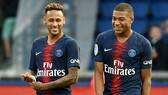 Neymar và Kylian Mbappe