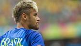Neymar trong màu áo Brazil