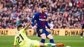 Messi luôn là hung thần trước khung thành Getafe.