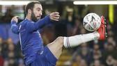 Gonzalo Higuain đang lkhao kah1t ghi bàn ở Europa League.