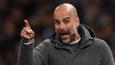 Pep Guardiola đã phô bày cảm xúc của mình sau chiến thắng Leicester City
