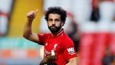 <Mo Salah với giải đồng Vua phá luối Premier League.