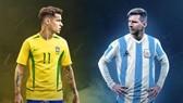 Otamendi thưởng thức trận Siêu kinh điển Argentina - Brazil