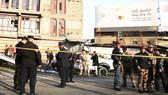 Hiện trường vụ đánh bom bị phong tỏa. Ảnh: RTE