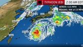 Nhật Bản đối phó với cơn bão có thể là mạnh nhất trong 25 năm qua