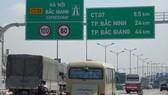 Tuyến BOT Hà Nội - Bắc Giang được Bộ GTVT và Bộ Tài chính đưa vào diện giám sát, kiểm tra.