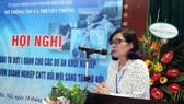 Bà Phan Lan Tú, Giám đốc Sở Thông tin Truyền thông Hà Nội.