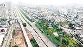 Xa lộ Hà Nội và metro Bến Thành - Suối Tiên qua quận 2. Ảnh: CAO THĂNG