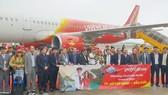 Vietjet khai trương đường bay TPHCM - Vân Đồn (Quảng Ninh)