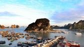 Một góc cảng Cái Rồng, Vân Đồn, Quảng Ninh. (Ảnh: Quang Quyết/TTXVN)