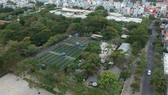 Mảng xanh tại công viên Khánh Hội, quận 4. Ảnh: THÀNH TRÍ