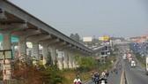Tuyến Metro Bến Thành - Suối Tiên thi công cầm chừng chờ điều chỉnh tổng mức đầu tư. Ảnh: QUỐC HÙNG