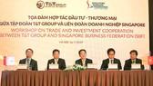 T&T Group hợp tác thương mại và đầu tư với Liên đoàn DN Singapore