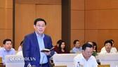 Phó Thủ tướng Vương Đình Huệ báo cáo 10 nhóm vấn đề ĐBQH và cử tri quan tâm