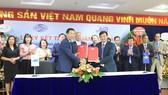 Vinaconex-MB ký kết hợp tác phát triển dịch vụ