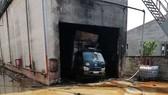 Hiện trường vụ cháy khiến 4 người thương vong