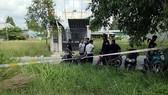 Lực lượng chức năng phong tỏa căn nhà thứ 2 để phục vụ công tác điều tra