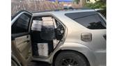 Số thuốc lá lậu bị phát hiện trong chiếc xe do đối tượng Truyền điều khiển
