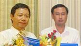 Ông Dương Anh Đức (trái) và ông Huỳnh Thanh Nhân