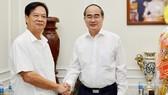 Bí thư Thành ủy TPHCM Nguyễn Thiện Nhân thăm, chúc tết nguyên Thủ tướng Nguyễn Tấn Dũng