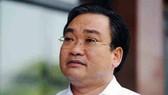Bí thư Thành ủy Hà Nội Hoàng Trung Hải trả lời báo chí