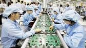 Các doanh nghiệp lớn thuộc ngành điện tử, điện thoại tăng mạnh sản lượng