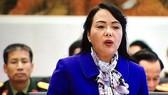 Bộ trưởng Bộ Y tế Nguyễn Thị Kim Tiến là người được nhiều đoàn ĐBQH muốn chất vấn