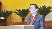 Bộ trưởng Bộ Giao thông - Vận tải Nguyễn Văn Thể