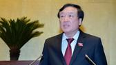 Chánh án TAND Tối cao Nguyễn Hoà Bình