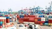 Hàng ngàn container tồn đọng tại cảng Cát Lái