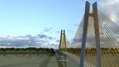 Cầu Mỹ Thuận 2 cách cầu Mỹ Thuận hiện tại (ảnh) về phía thượng lưu 350m