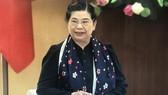 Bà Tòng Thị Phóng, Phó Chủ tịch Quốc hội phát biểu tại phiên họp