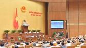Quốc hội thể hiện ý kiến bằng hệ thống biểu quyết điện tử