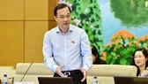 Chủ nhiệm Ủy ban Kinh tế của Quốc hội, ông Vũ Hồng Thanh đề xuất lựa chọn phương án 2