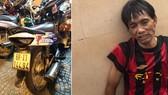 Bắt đối tượng đi bộ trộm xe máy ở trung tâm TPHCM
