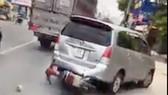 Xôn xao clip CSGT truy đuổi xe ô tô nghi vấn tẩu thoát với tốc độ cao