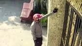 Hình ảnh từ clip ghi nhận vụ trộm