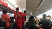 """Các cuộc cãi cọ và gây rối trên máy bay đã gia tăng trong những năm gần đây và nguyên nhân do văn hóa ứng xử của các """"thượng đế""""."""