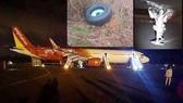 Đã tìm thấy lốp máy bay Vietjet bị sự cố ở sân bay Buôn Ma Thuột