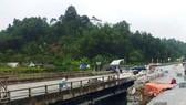 Cầu Ngòi Thủ chưa được sửa chữa sau 7 tháng xảy ra sự cố