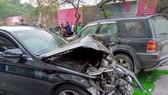 Ô tô tông liên hoàn, một cụ bà tử vong, hai người bị thương