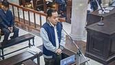 """Bị cáo Vũ """"nhôm"""" tại phiên tòa sáng 29-1-2019"""