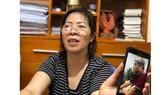 Bà Nguyễn Bích Quy, người đưa đón học sinh trường Gateway