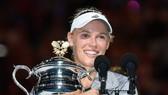 Wozniacki đã đăng quang ngôi vô địch đơn nữ của Australian Open năm nay