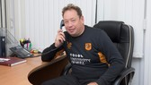 Leonid Slutsky trong màu áo Hull City