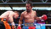 Manny Pacquiao trong trận đấu gần đây nhất - với Jeff Horn