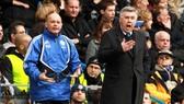 Ray Wilkins khi làm trợ lý cho Carlo Ancelotti